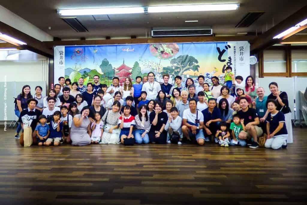 Experience in Fukuroi Group Photo2