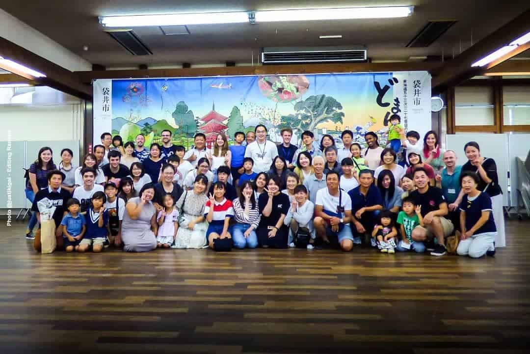 Experience in Fukuroi Group Photo1